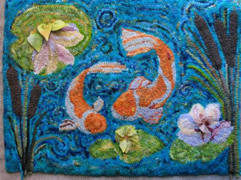 koi pond rug wool junction gallery