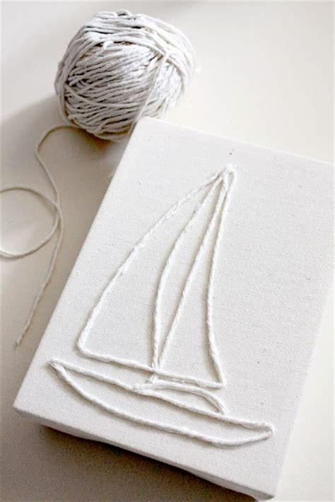 String On Canvas - ruffles and stuff string canvas tutorial