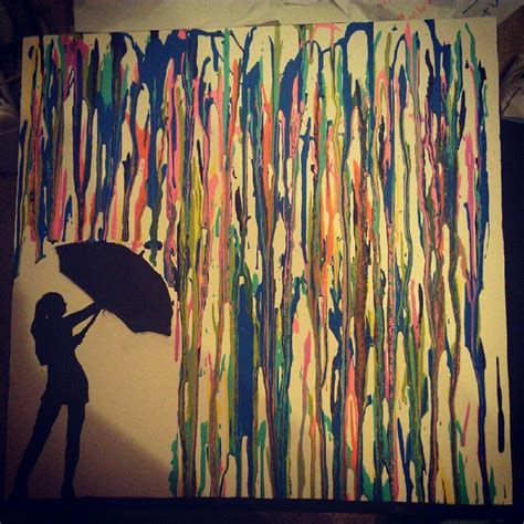 Acrylic Drip Painting On Canvas To Me This Is