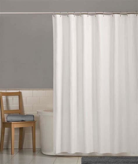 water repellent fabric shower curtain com maytex water repellent fabric shower curtain