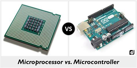 integrated circuit vs microprocessor difference between microprocessor and microcontroller