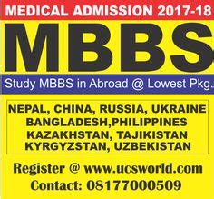 Mba After Mbbs In Canada by Study Mbbs Bds Md Ms Mds Diploma Nursing In Indian