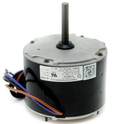 ac condenser fan motor replacement condenser fan motor 0131m00018ps goodman amana 1 4 hp 1