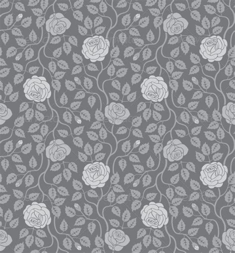 grey leaf pattern wallpaper seamless pattern grey leaves 187 tinkytyler org stock