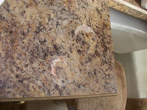 Repair Formica Countertop by Restoration Of Formica Countertop After Customer Spilled
