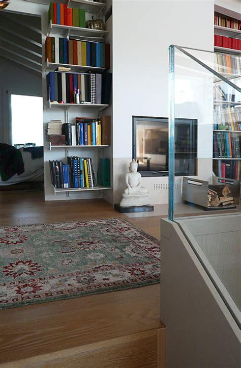 librerie progetto progetto caminetto bifacciale in libreria