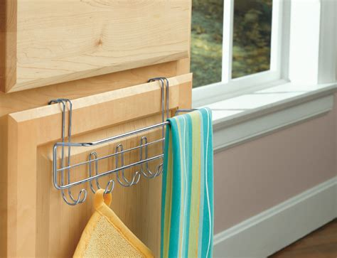 over the cabinet hooks over the cabinet towel bar and hooks in kitchen towel holders