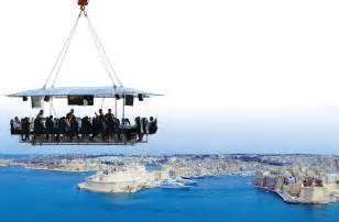 Dinner in the sky coming to malta this august lovin malta