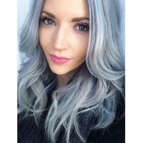 cheveux chatain meche grise coloration des cheveux moderne coloration grise cheveux
