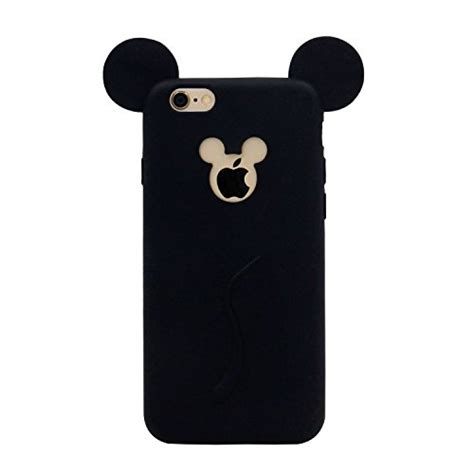 Iphone 6 6s 3d Mickey Minnie Casing Armor Be Murah iphone 6s mc fashion 3d mickey mouse ears silicone soft and light for apple