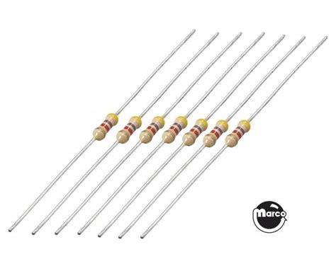 resistor kits assortments resistor kit assortment 340 pieces rkit2w marco pinball parts