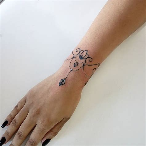 cuff tattoos wrist bracelet tattoos designs ideas and meaning