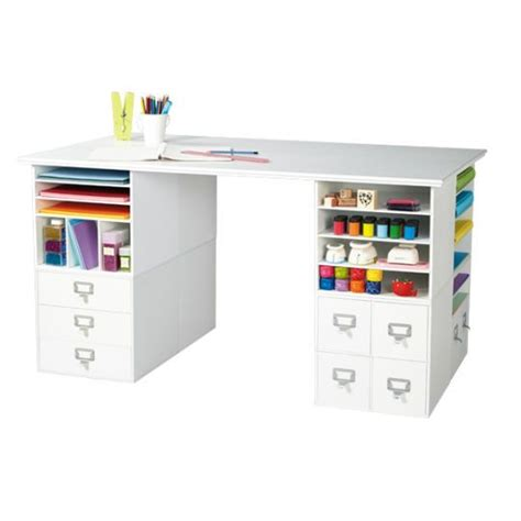 Small Craft Desk 25 Best Ideas About Craft Desk On Pinterest Craft Room Storage White Craft Room And Craft Rooms