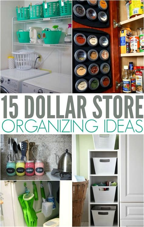 dollar store organizing ideas dollar store organizing