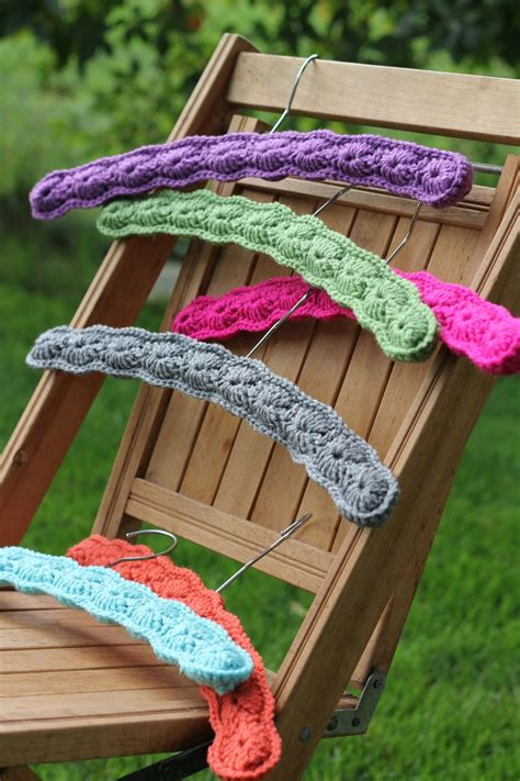 pattern for covering clothes hangers crochet hanger covers