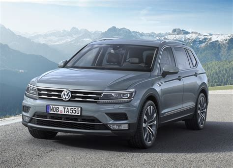 vw tiguan allspace review summary parkers