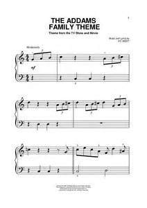 theme song addams family the addams family theme sheet music for piano and more