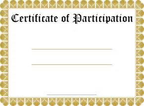 free printable blank certificate templates certificate of participation template new calendar