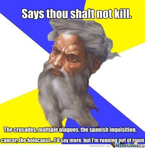Hypocrite Meme - god the greatest hypocrite by melthor meme center