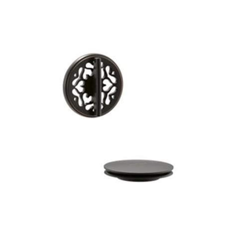 Rubbed Bronze Shower Drain Cover by Kt37394 2bz Pureflo Tub Shower Drain Cover Bathroom