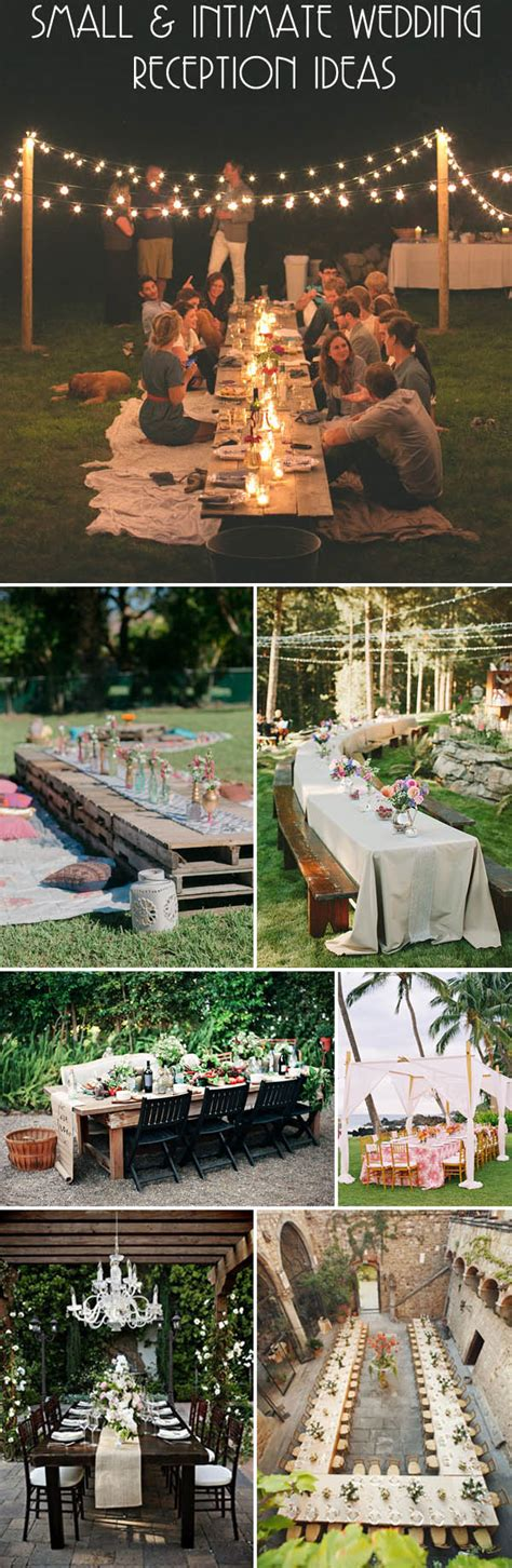 Small Wedding Ideas by Intimate Wedding Ideas Five Essential Elements That Bring
