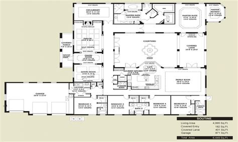 spanish home plans spanish style kitchen floors spanish style home floor plans spanish style homes with courtyards