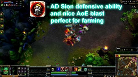 league of legends ad sion guide build runes tips tricks