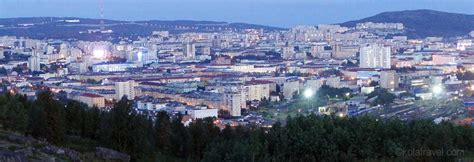 Absolutely worlds biggest city above Arctic circle: Murmansk