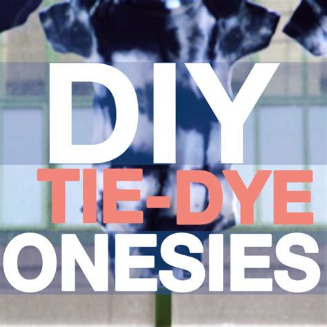 Diy Onesie Baby Shower by Diy Tie Dye Baby Onesies Easy Diy Crafts