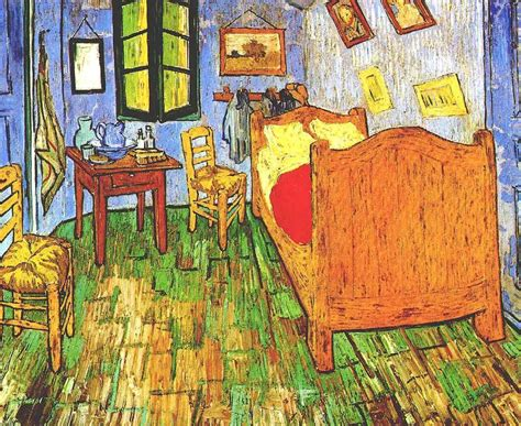 van gogh bedroom in arles vincent s bedroom in arles 2 van gogh oil painting