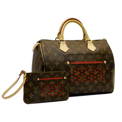 Special Edition Louis Vuitton Epileather 2006 special edition louis vuitton perforated speedy bag
