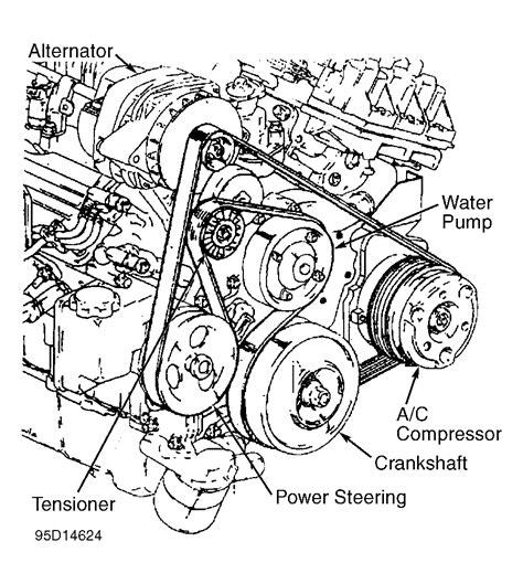 1995 buick 3800 engine diagrams 1995 free engine 1995 buick park avenue serpentine belt routing and timing