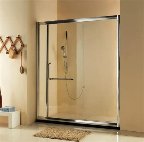 Single Glass Shower Doors Single Sliding Shower Door With 8mm Glass Hp3a Daneton China Manufacturer Shower Room