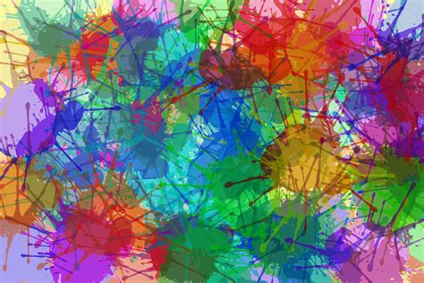 wallpaper you can color abstract colors splash painting 6k abstract desktop