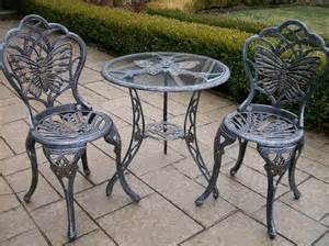 Patio Furniture Bistro Sets Aluminum Outdoor Garden Patio Furniture