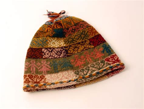 peruvian knitting organic dyed knitted hat peru object lessons clothes
