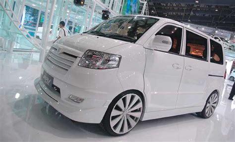Suzuki Apv Modified Suzuki Apv White Luxury Modified Velg Ceper