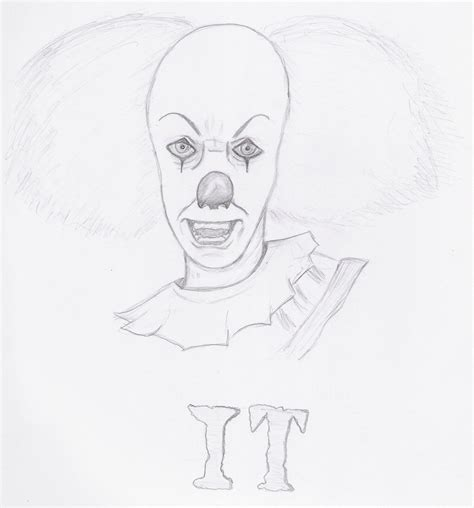 how to draw pennywise clown it coloring pages dsc