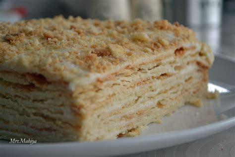 napoleon cake торт наполеон