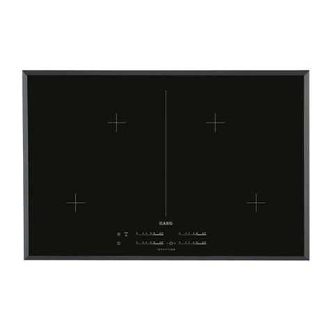 induction hob information aeg maxisense induction hob with stop go