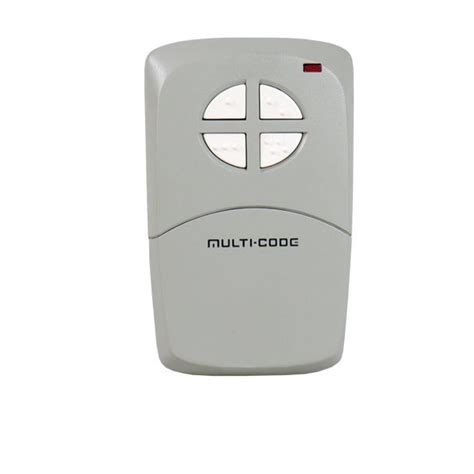 10 Pin Garage Door Opener by Multi Code 4140 Visor Gate Garage Door Opener 4 Button