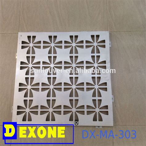 perforated pattern design software metal aluminum perforated sheet for window facade wall