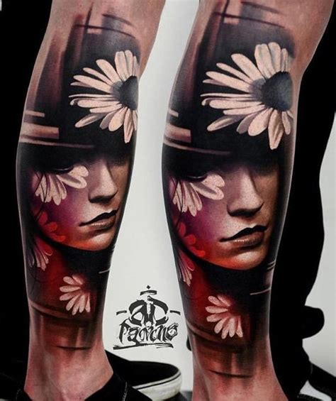 how hard is it to get a tattoo removed 50 amazing calf tattoos portrait design and calves