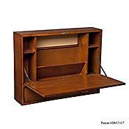 wall mount laptop desk brown mahogany best floating desks 2017 a listly list