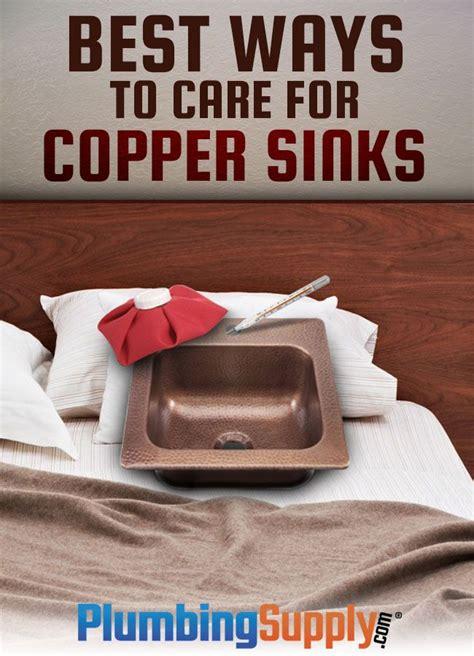 best way to clean drain 25 best ideas about copper sinks on pinterest copper