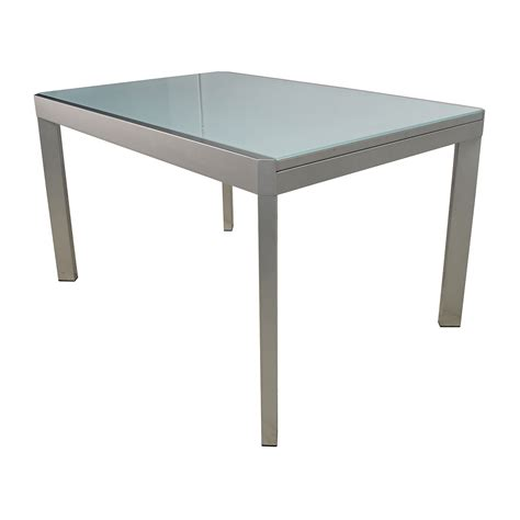 extendable dining table with bench 86 off calligaris calligaris extendable glass dining