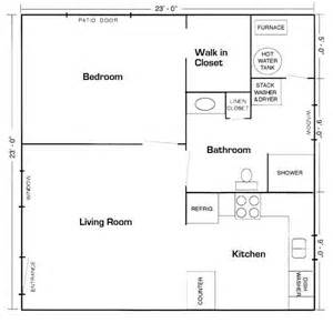 mother in law cottage plans 20 x20 apt floor plan mother in law suite picture