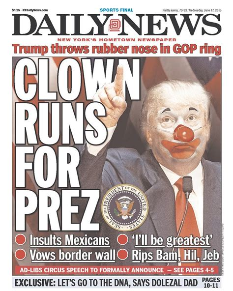 donald trump recent news newspapers react to donald trump s caign for president