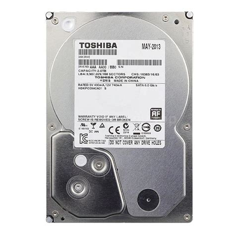 toshiba 2tb hdd 3 5 inch dt01aca200 disk drive for pc desktop u4e8 ebay