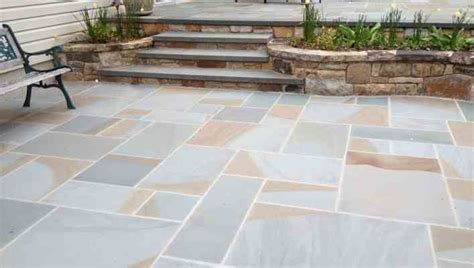 Thermal Bluestone Patio by Color Thermal Finish Hepco Quarrieshepco Quarries